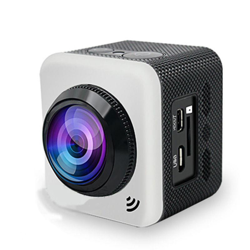 360 Degree Camera Wifi Portable Outdoor Wide-Angle Video Camera GUBE360S